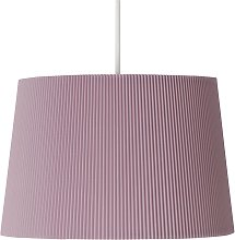 Argos Home Micropleat Shade - Blush Pink