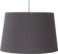 Argos Home Micropleat Shade - Dark Grey