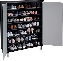 Argos Home Milan Frosted Glass Door Shoe Cabinet -