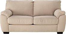 Argos Home Milano 2 Seater Fabric Sofa Bed - Beige