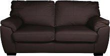 Argos Home Milano 2 Seater Leather Sofa Bed -