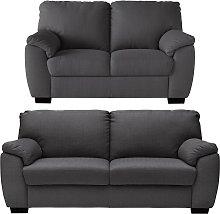 Argos Home Milano Fabric 2 Seater & 3 Seater Sofa