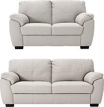 Argos Home Milano Leather 2 & 3 Seater Sofas -