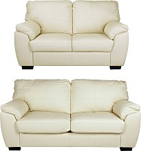 Argos Home Milano Leather 2 Seater and 3 Seater