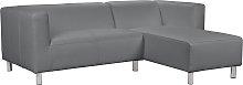 Argos Home Moda Right Corner Faux Leather Sofa -