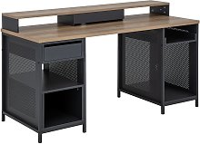 Argos Home Modular 1 Drawer Gaming Desk - Oak