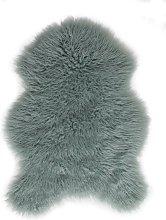 Argos Home Mongolian Faux Fur Rug - 60x90cm - Duck
