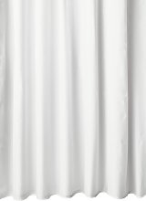 Argos Home Mould Resistant Shower Curtain - White
