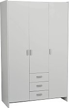 Argos Home New Capella 3 Door 3 Drawer Wardrobe -
