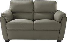 Argos Home New Trieste 2 Seater Leather Mix Sofa -