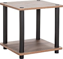 Argos Home New Verona Side Table - Dark Wood Effect