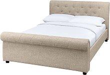 Argos Home Newbury Superking Bed Frame - Natural