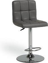 Argos Home Nitro Bar Stool - Grey
