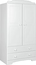Argos Home Nordic 2 Door 2 Drawer Wardrobe - Soft