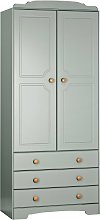 Argos Home Nordic 2 Door 3 Drawer Wardrobe - Grey