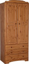 Argos Home Nordic 2 Door 3 Drawer Wardrobe - Pine