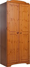 Argos Home Nordic 2 Door Wardrobe - Pine