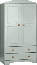 Argos Home Nordic 2 Dr 2 Drawer Short Wardrobe -