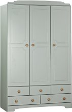 Argos Home Nordic 3 Door 5 Drawer Wardrobe - Grey