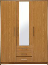 Argos Home Normandy 3Dr 3Drw Large Mirror Wardrobe