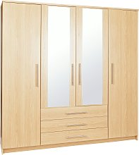 Argos Home Normandy 4 Door 3 Drawer Mirror