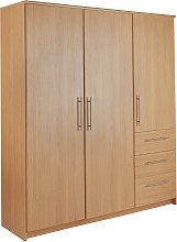 Argos Home Normandy Oak 3 Door 3 Drawer Extra