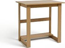 Argos Home Office Desk - Beech Effect