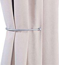 Argos Home Pair of J-Shaped Curtain Holdbacks -