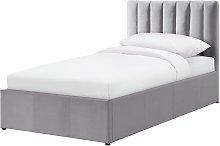 Argos Home Pandora Single Ottoman Bed Frame - Grey