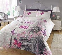 Argos Home Paris Romance Bedding Set - Single