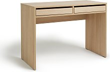 Argos Home Pepper 2 Drawer Desk - Oak Effect