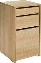 Argos Home Pepper 2 Drawer Filing Cabinet - Oak