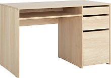 Argos Home Pepper 2 Drawer Pedestal Desk - Oak
