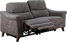 Argos Home Pepper 3 Seater Fabric Recliner Sofa -