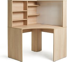 Argos Home Pepper Corner Desk - Oak Effect