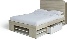 Argos Home Pico Double Ultimate Storage Bed Frame
