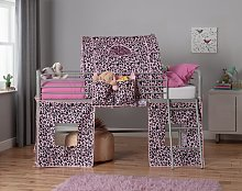 Argos Home Pink Leopard Tunnel & Tent for Kids Mid