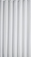 Argos Home Plain Shower Curtain - Super White