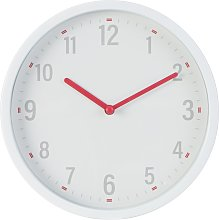 Argos Home Plastic Wall Clock - White