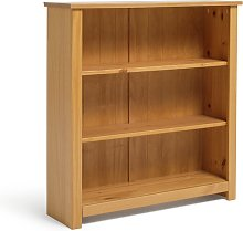 Argos Home Porto 2 Shelf Solid Wood Bookcase - Pine