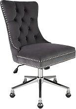 Argos Home Princess Velvet Handleback Office Chair