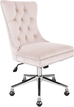 Argos Home Princess Velvet Handleback Office Chair