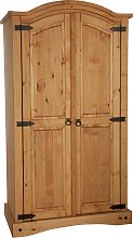 Argos Home Puerto Rico 2 Door Wardrobe - Light Pine