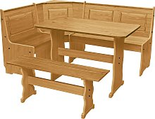 Argos Home Puerto Rico Solid Wood Nook Table &