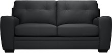 Argos Home Raphael 2 Seater Leather Mix Sofa bed -