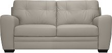 Argos Home Raphael 3 Seater Leather Mix Sofa -