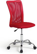 Argos Home Reade Mesh Office Chair - Red