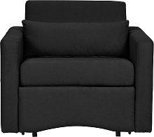 Argos Home Reagan Fabric Chair Bed - Charcoal