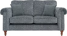 Argos Home Rebecca 2 Seater Fabric Sofa - Charcoal