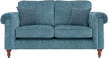 Argos Home Rebecca 2 Seater Fabric Sofa - Teal